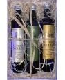 Coffret 3 huiles - olive noix sésame 50cl